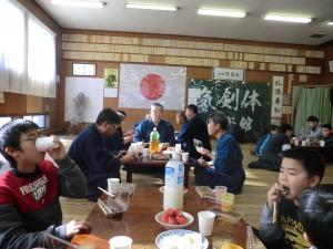 鏡開きはお供え餅を食べる下げて食べる伝統から(^^)
