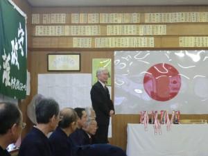 磯先生の講話「成長の喜びについて」