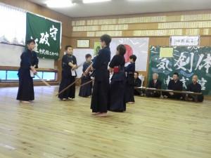 木刀による剣道基本技稽古法の審査