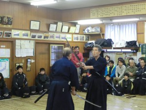 日本剣道形の演武!