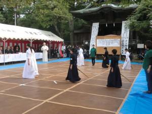 剣士たちの入場です(^^)