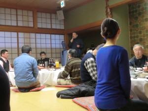 館長先生より先生、剣士、父母の会の皆さまへ感謝の挨拶がありました