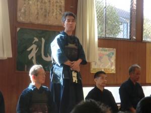 いつも指導いただいている細野先生から一言ご挨拶いただきました!