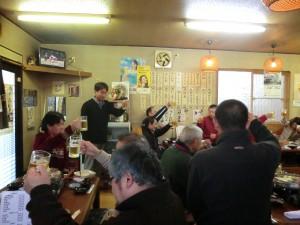 夕方より、割烹吉にて懇親会を盛大に開催しました(^^)!