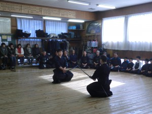 日本剣道形の披露です(^^)!