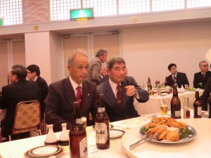 大変和やかな雰囲気でお酒もすすみますね~(*^▽^*)