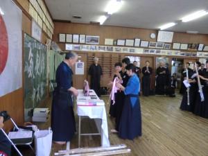 勝ち抜き戦の入賞者にも記念品を贈呈(^^)v
