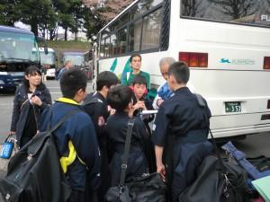 武道館に到着ヽ(^o^)丿