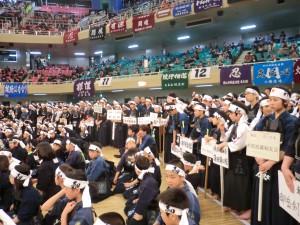 関東近県から2000名を超える選手が集まりましたヽ(^o^)丿