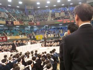 開会式が始まりました(^O^)